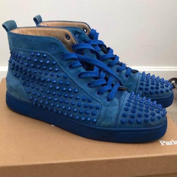 4a1920995c2 Christian Louboutin Louis Spikes High Top Sneaker
